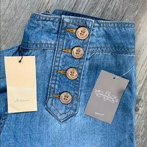 NWT Elevenses Wide Leg Jeans  - Anthropologie US6